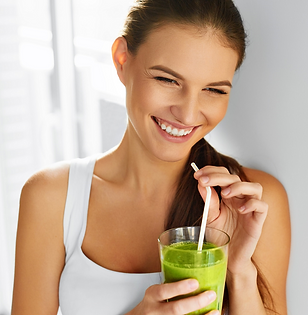 Girl drinking smoothie x650.png