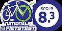 FT2020 logo OK Fietstest_Score 8,3_outli