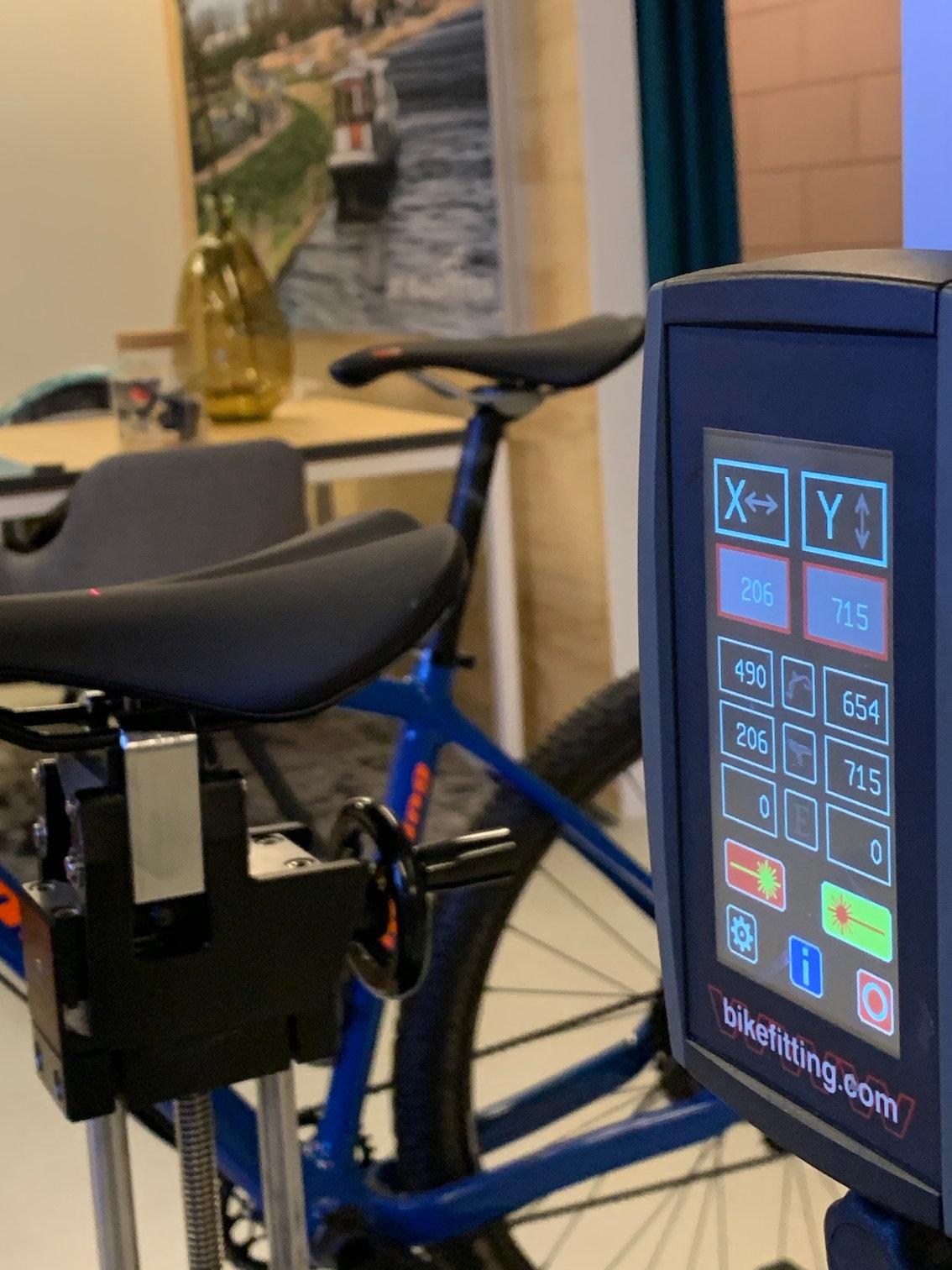 Dynamische fietsmeting 'Novice'