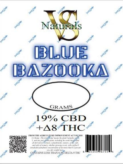 """VS Naturals 1/8 """"Blue Bazooka"""" D8 Flower"""