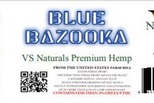 VS Naturals Blue Bazooka D8 Pre Roll King Size
