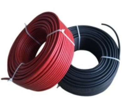 Cable Solar FV 6mm Negro