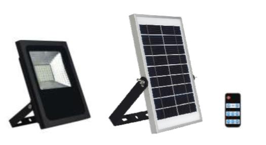 Reflector solar para exterior 100w