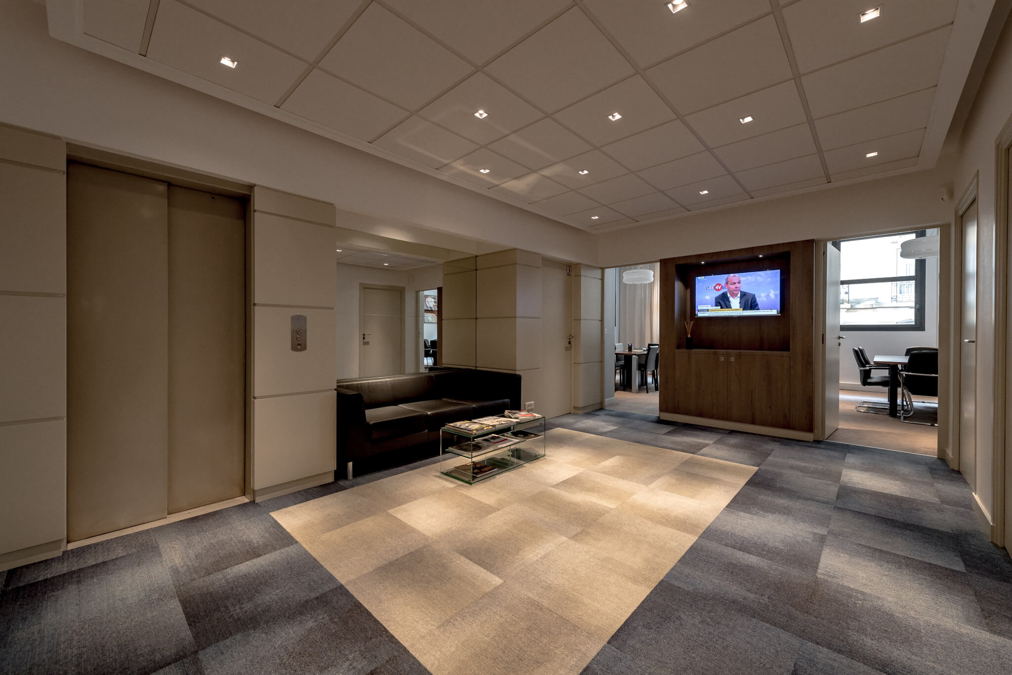 Rénovation complète de ces bureaux