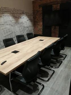 Rénovation complète de cette salle de réunion