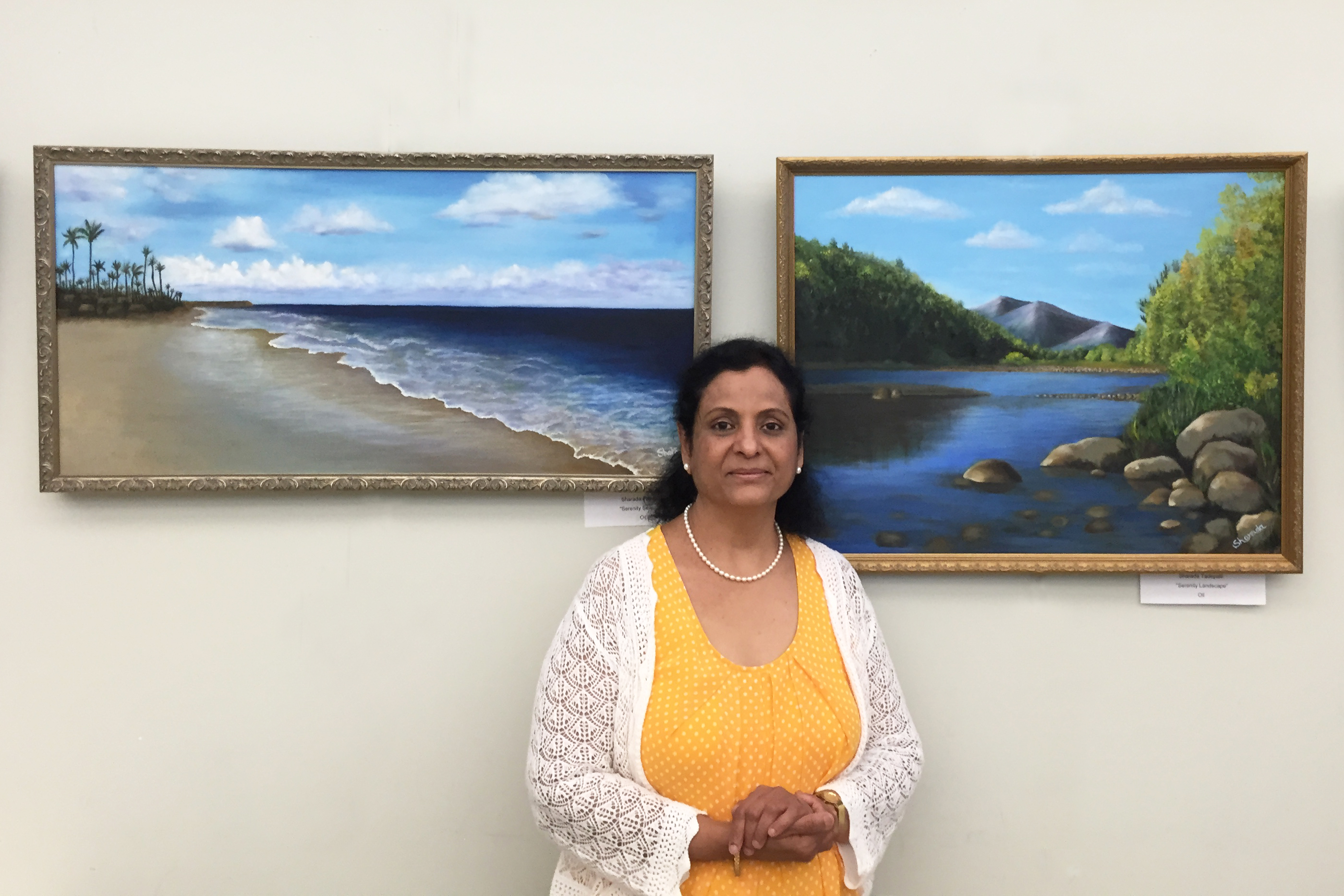 Sharada Tadepalli and Paintings