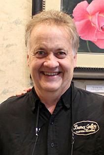 Greg Schnoor owner of Barnes Gallery