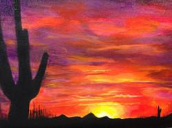 Rte 66: Arizona Sunset