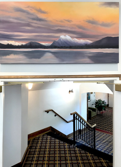 Banff Fairmmont - Hallway to Conference Centre