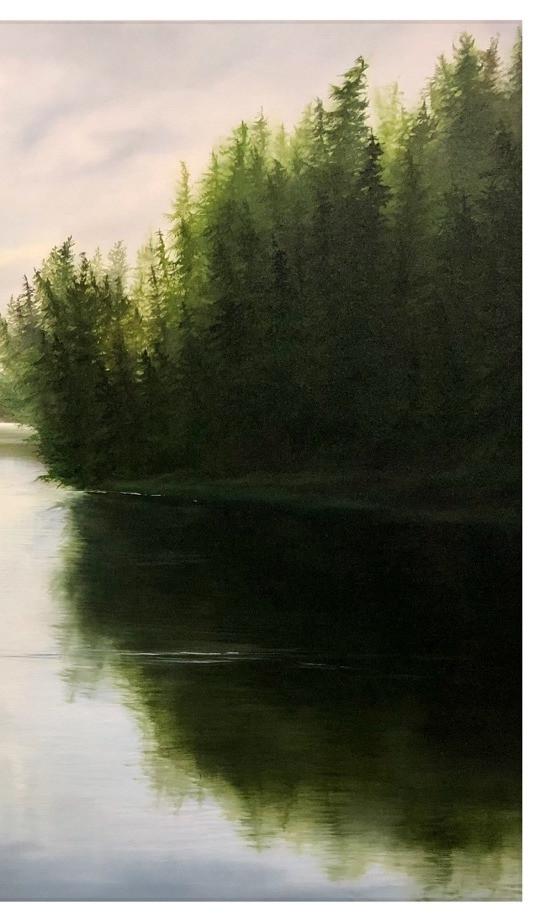 detail of Kumdis River Calm
