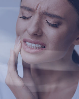Tooth Pain And Dentistry. Beautiful Youn