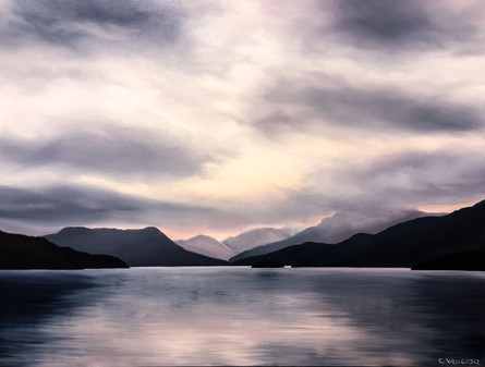 Calm Channel - Maurell Island