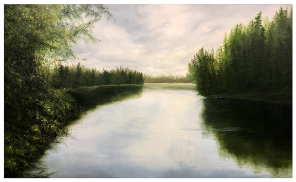 Kumdis River Calm
