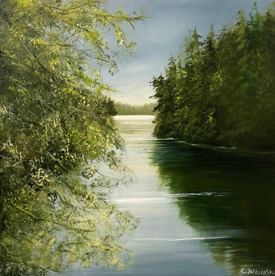 Shadows Along Kumdis River