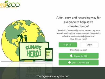 A fun, easy, and rewarding way for everyone to help solve climate change!