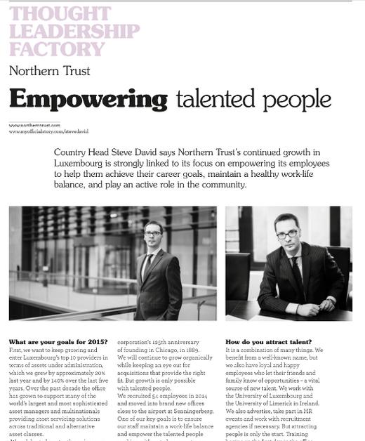 Steve David (Northern Trust)