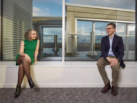 Nedjma Bellakhdar and Andrea Tedone (BNP Paribas Securities Services)