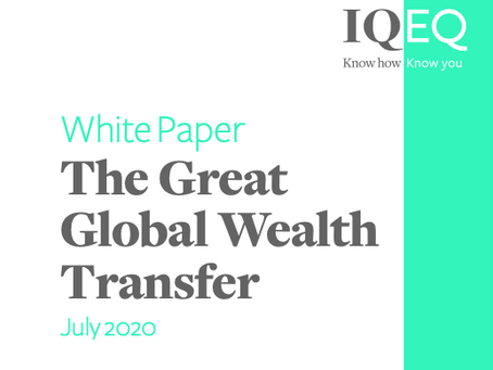 L3A Update: IQ-EQ White Paper - The Great Global Wealth Transfer
