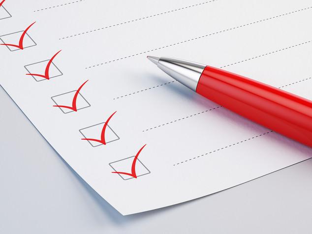 Forms & Checklist