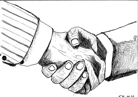 42_KYC for corp agreement shaking hands