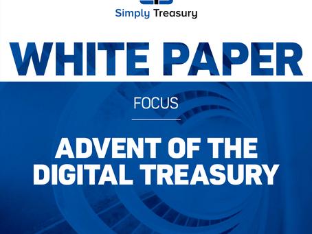 WHITE PAPER - Advent of the digital treasury
