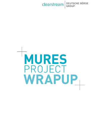 Project wrapup