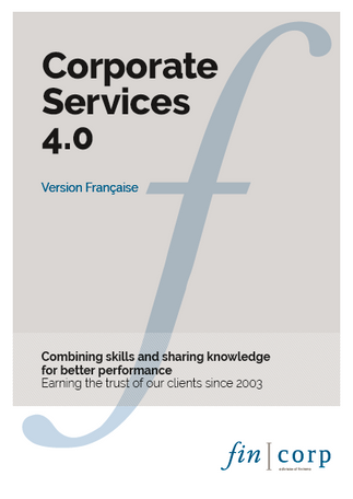 Corporate Services 4.0