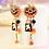Thumbnail: Cute Halloween Pumpkin Earrings