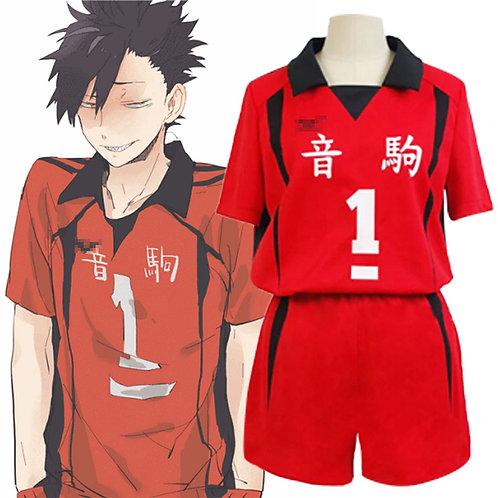 Haikyuu!! Nekoma High Kuroo Tetsurou #1 Volleyball Uniform