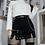 Thumbnail: Black Punk Skirt with Eyelet Detailing