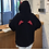 Thumbnail: Minimal Demon Hoodie