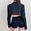 Thumbnail: Cropped Streetwear Blazer Jacket