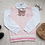 Thumbnail: Pink Rabbit Embroidered Sweater Vest