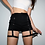 Thumbnail: High Waist Thigh Ribbon Shorts