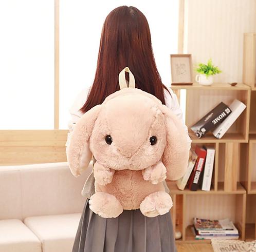 Fluffy Bunny Backpack