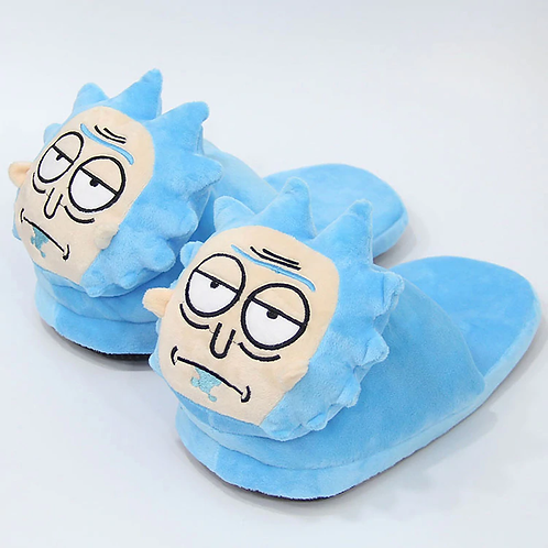 Drooling Rick Slippers