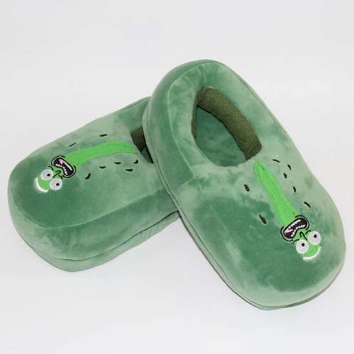 Pickle Rick Slippers