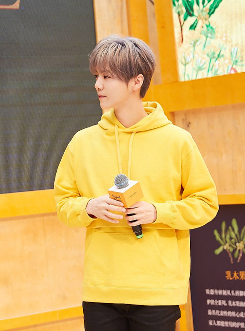 EXO Luhan Inspired Yellow Hoodie