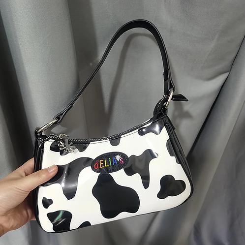 Cow Print Delia's Bag