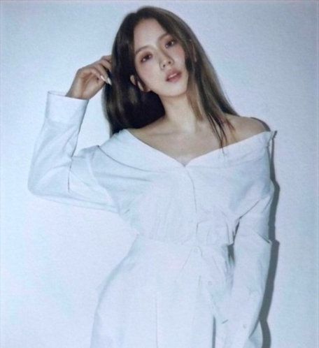 "Blackpink Jisoo ""The Album"" Inspired Shirt Dress"