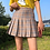 Thumbnail: Chequered Pleated Skirts