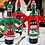 Thumbnail: Christmas Sweater Wine Bottle Covers