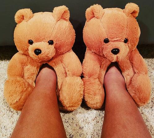 Teddy Bear Slippers