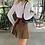 Thumbnail: Brown Preppy Mini Skirt