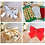Thumbnail: 12PCS Christmas Bow Decorations