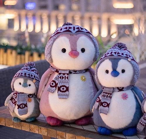 Winter Penguin Plushies