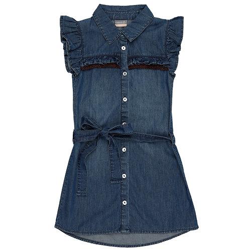 Vinrose Dress Blue Denim