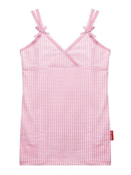 Claesen's Girls Top Pink Vichy