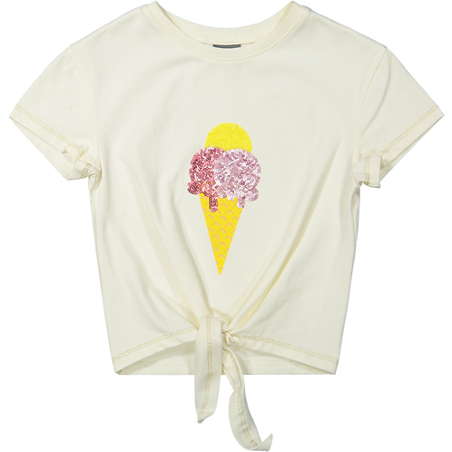 Vinrose T-Shirt White Ice Cream