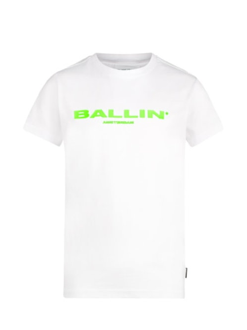 Ballin T-Shirt White Neon